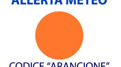 ALLERTA METEO, CODICE ARANCIONE PER DOMENICA 18 LUGLIO 2021