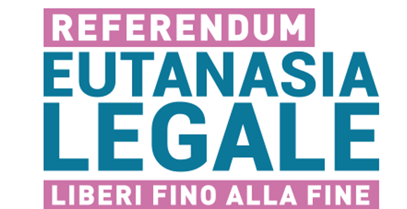 AVVISO RACCOLTA FIRME REFERENDUM EUTANASIA LEGALE