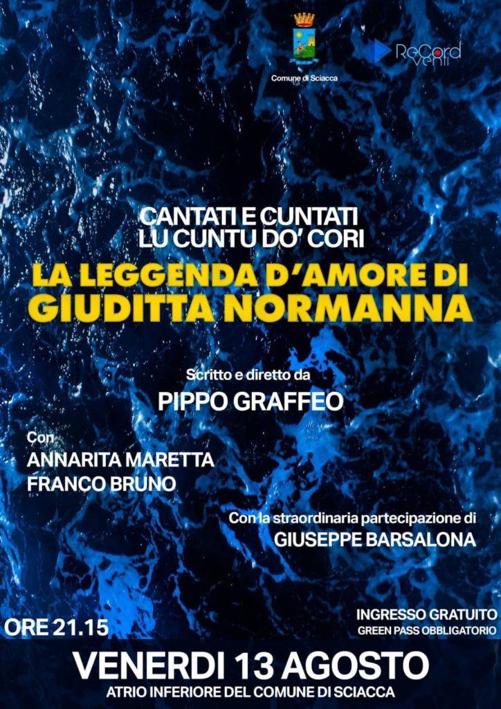 """""""LA LEGGENDA D'AMORE DI GIUDITTA"""" DI PIPPO GRAFFEO"""