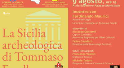 La Sicilia archeologica di Tommaso Fazello, incontro con Ferdinando Maurici