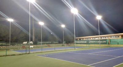 Inaugurazione nuovi campi da tennis
