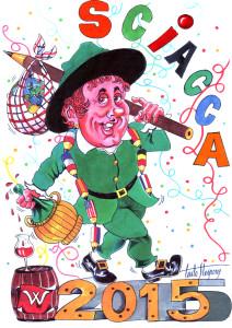 carlo sterpone - cartolina carnevale di sciacca 2015