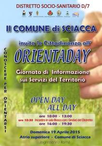 Orientaday - manifesto