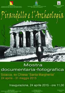 Pirandello e l'Archeologia mostra a Sciacca - locandina 2