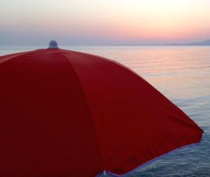 ombrellone e mare