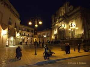 sciacca piazza duomo basilica maria santissima del soccorso