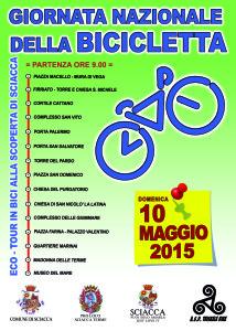 eco tour in bici alla scoperta di sciacca LOCANDINA 2015