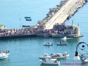festa di san pietro 'ntinna a mare