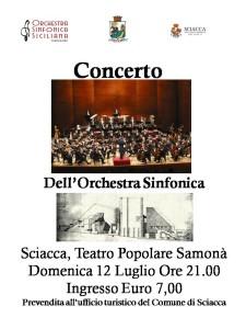 locandina orchestra sinfonica siciliana