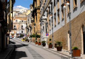 via roma centro storico sciacca