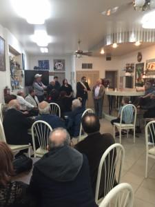 Assessore Monte incontra comunità saccensi a New York 2