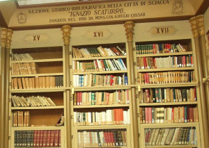 biblioteca comunale cassar di sciacca