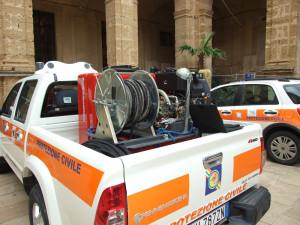 fuoristrada di protezione civile al comune di sciacca 2