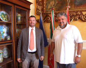 visita sindaco di gatteo gianluca vincenzi