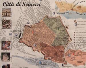 sciacca mappa centro storico