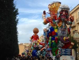 Carnevale di Sciacca 2016 - Carri Viale della Vittoria
