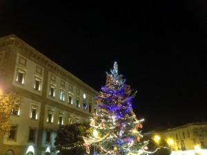 natale 2014 - albero con municipio