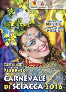 Manifesto Carnevale di Sciacca 2016