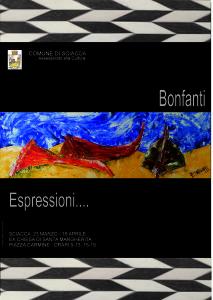 locandina CARLOS BONFANTI mostra a sciacca