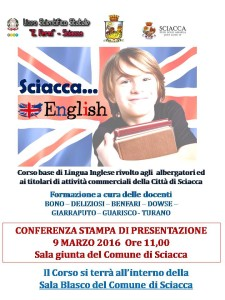 locandina corso sciacca english 2