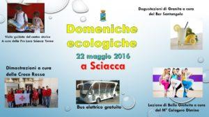 domenica ecologica 22 maggio 2016