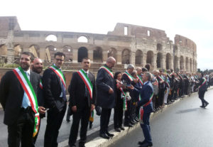 2 giugno parata sindaci a roma 1