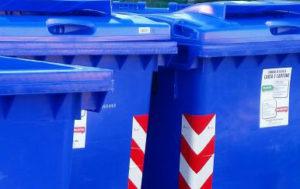 cassonetti blu rifiuti