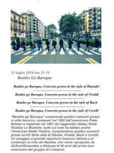 concerto beatles go baroque