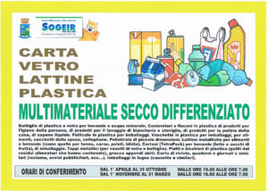 differenziata multimateriale secco