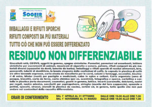 differenziata residuo non differenziabile