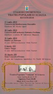 stagione concertistica 2016 teatro samonà