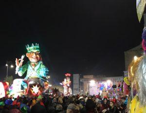carnevale di sciacca 2017 - palco piazza scandaliato