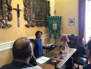 insediamento sindaco francesca valenti
