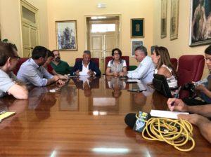 estate saccense 2017 conferenza stampa sindaco valenti assessore bellanca