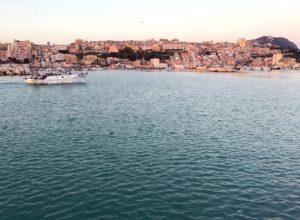 porto di sciacca e città