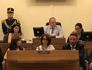sindaco valenti presidente montalbano segretaria la spina
