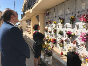 2 novembre 2017 - omaggio ai defunti cimitero comunale 1