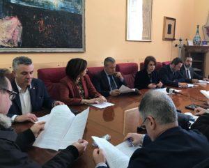 conferenza stampa fine anno 2017 sindaco valenti e assessori 1