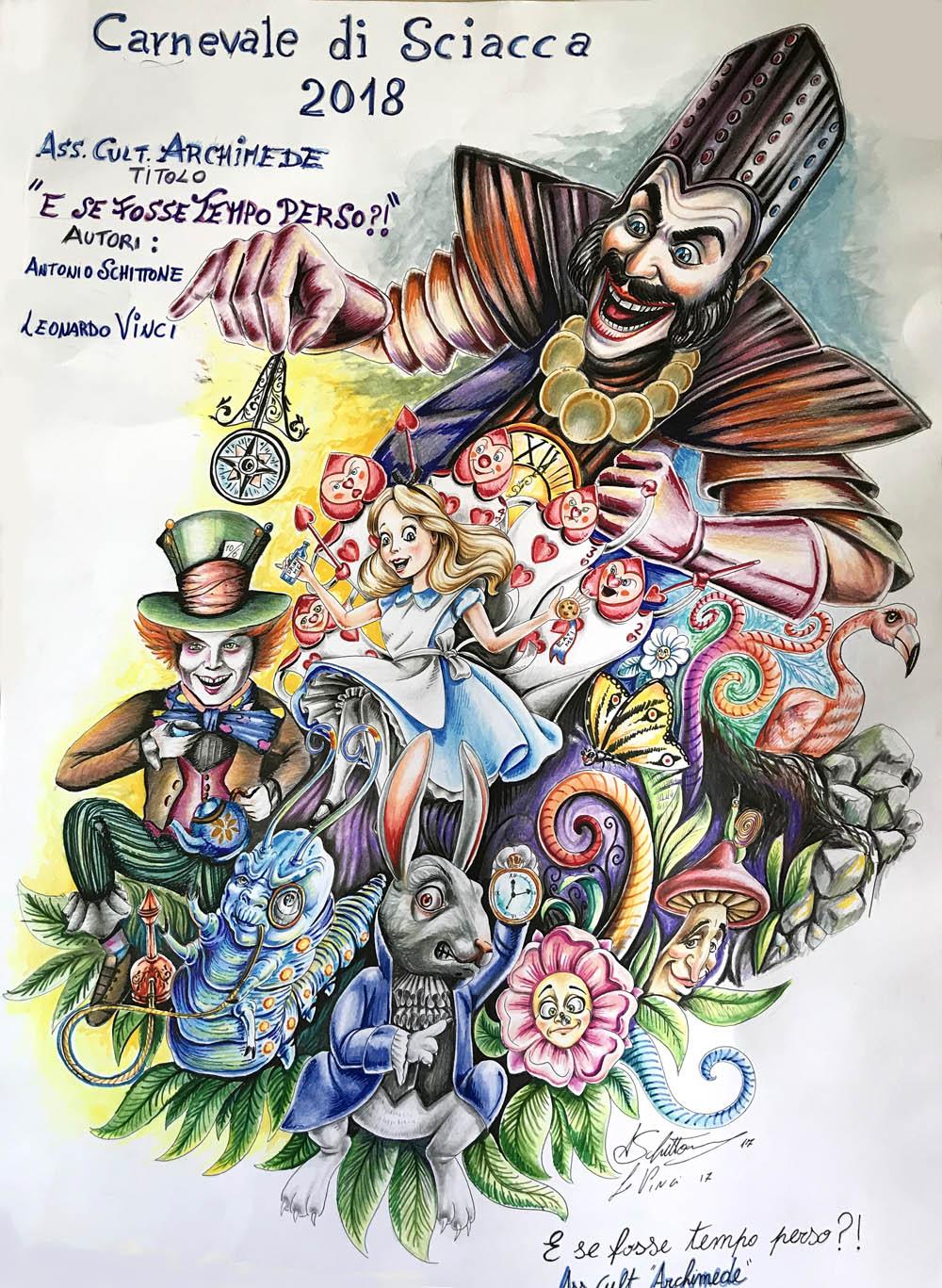 Carnevale Di Sciacca 2018 I Bozzetti Dei Carri Allegorici Comune