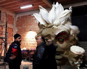 carnevale di sciacca 2018 - capannone peppe nappa