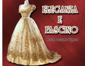 mostra abiti d'epoca museo scaglione - locandina 2