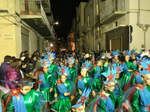carnevale di sciacca 2018 - sfilata a san michele