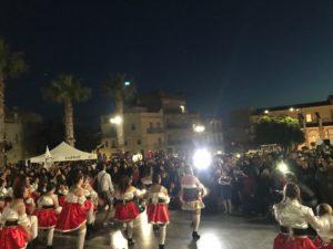 carnevale di sciacca 2018 - spettacolo in piazza noceto 2