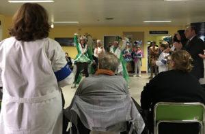 carnevale di sciacca 2018 - visita ospedale
